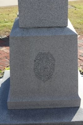 Court House Square Public Safety Monument Photo, Click for full size