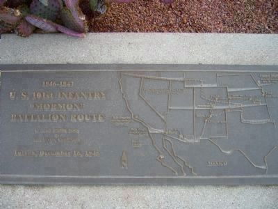 Exchange at the Presidio Plaque image. Click for full size.