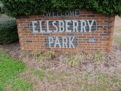 Julius Ellsberry Memorial Park image. Click for full size.