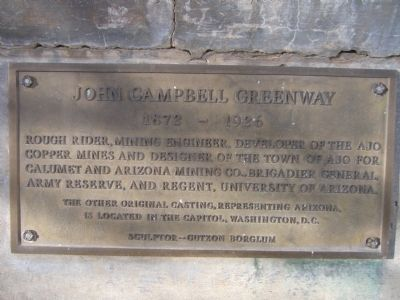 John Campbell Greenway Marker image. Click for full size.