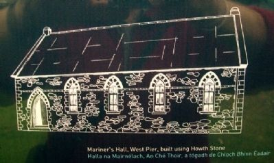 Mariner's Hall Drawing on Marker image. Click for full size.