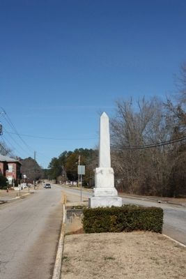 Rev. Daniel Marshall Marker, as seen along US 221, Appling Harlem Road in Appling image. Click for full size.