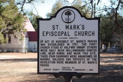 St. Mark's Episcopal Church Marker Photo, Click for full size