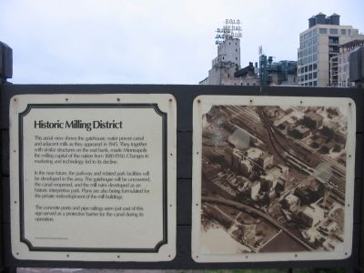 Historic Milling District Marker image. Click for full size.