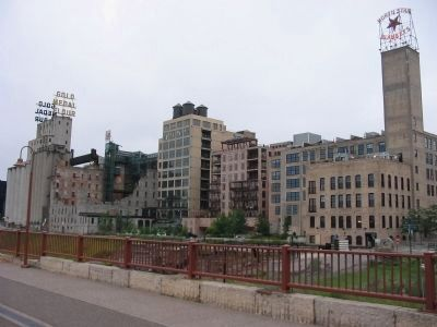 Historic West Side Milling District image. Click for full size.
