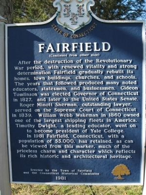 Fairfield Marker image. Click for full size.