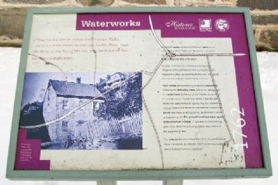 Waterworks Marker image. Click for full size.