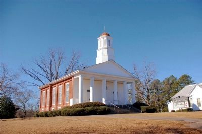 Talbotton United Methodist Church, built in 1857 image. Click for full size.