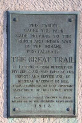 The Great Trail Marker image. Click for full size.