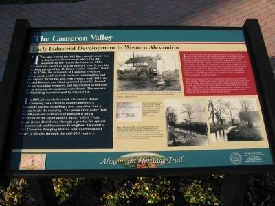 The Cameron Valley Marker image. Click for full size.
