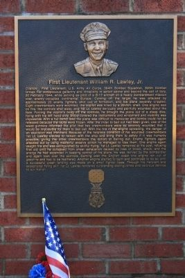 Congressional Medal Of Honor Recipient: First Lieutenant William R. Lawley, Jr. image. Click for full size.