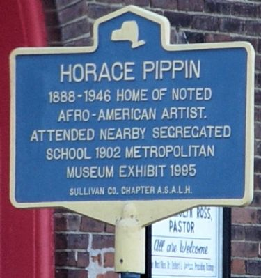 Horace Pippin Marker image. Click for full size.