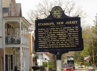 Stanhope, NJ Marker image. Click for full size.