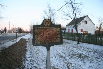 The Navarre - Anderson Trading Post Marker Photo, Click for full size