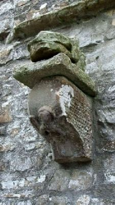 Wall Detail in Newtowntrim Cathedral image. Click for full size.