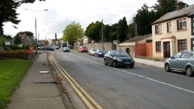 Looking West Along Headfort Place (R163) image. Click for full size.