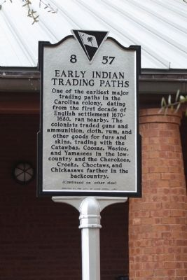 Early Indian Trading Paths Photo, Click for full size