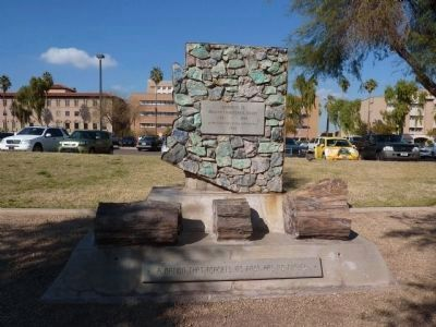 Memorial to Arizona Confederate Troops Marker image. Click for full size.
