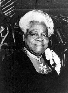 Mary McLeod Bethune, later years image. Click for full size.