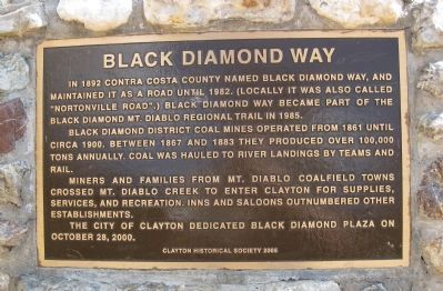 Black Diamond Way Marker image. Click for full size.