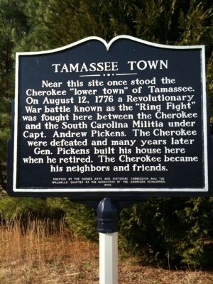Tamassee Town image. Click for full size.