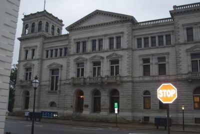 U.S. Post Office and Courthouse image. Click for full size.