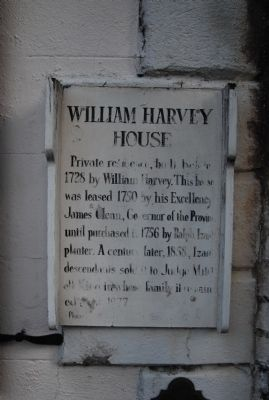 William Harvey House Marker Photo, Click for full size