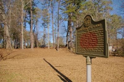 Confederate Camp Marker image. Click for full size.
