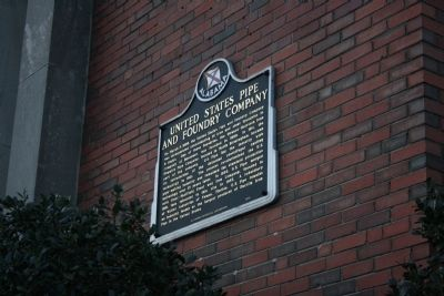 United States Pipe and Foundry Company Marker image. Click for full size.