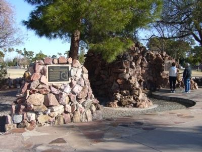 Arizona's Honeymoon Trail Marker Photo, Click for full size