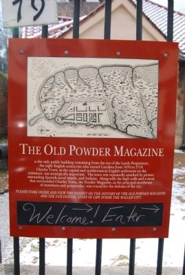 The Powder Magazine Marker image. Click for full size.