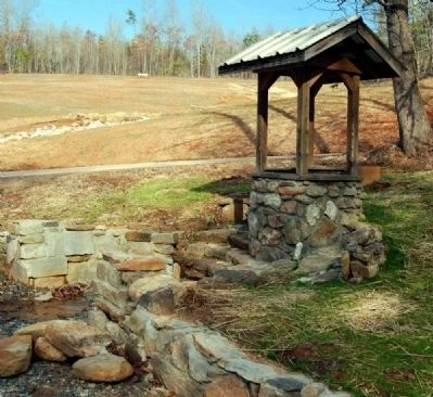 Well at Campbell's Covered Bridge image. Click for full size.