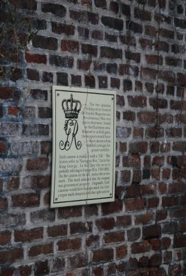 Powder Magazine sign image. Click for full size.