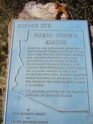 Farmer-Goodwin Mansion Marker image. Click for full size.