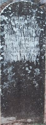 John Magill Headstone image. Click for full size.