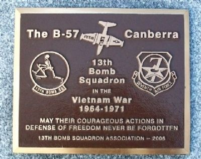 13th Bomb Squadron Memorial image. Click for full size.