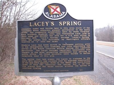 Lacey's Spring Marker image. Click for full size.