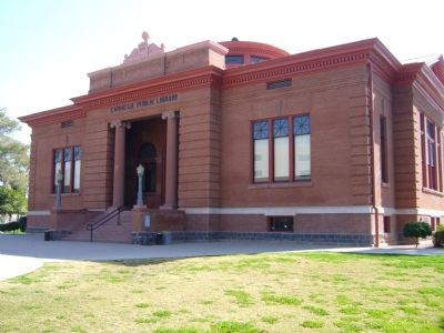 Carnegie Library image. Click for full size.