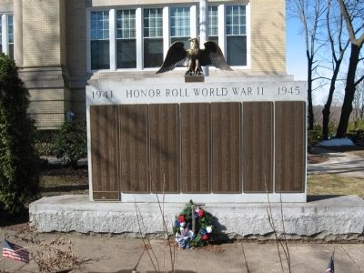 Wallingford World War II Honor Roll image. Click for full size.