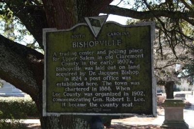 Bishopville Marker image. Click for full size.