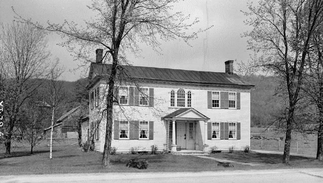 Governor Jonas Galusha Homestead Photo, Click for full size
