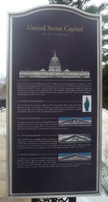 United States Capitol Marker image. Click for full size.