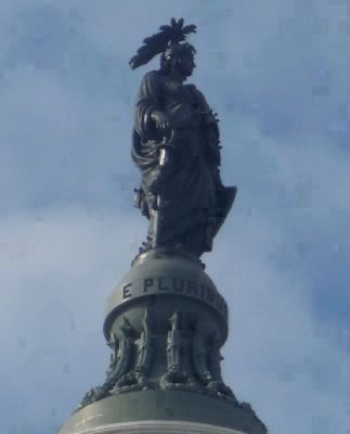 The Statue of Freedom - <i> E Pluribus Unum</i> Photo, Click for full size