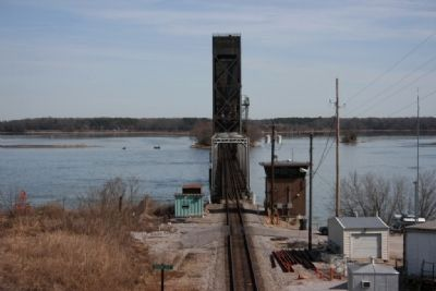 The lift bridge over the Tennessee River image. Click for full size.