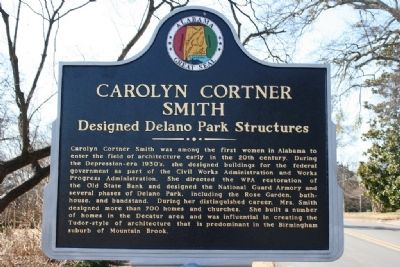 Carolyn Cortner Smith Marker Side B image. Click for full size.