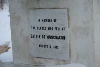 War of 1812 Memorial Marker image. Click for full size.