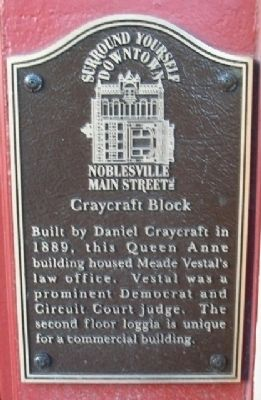 Craycraft Block Marker image. Click for full size.