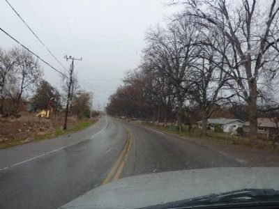 A View of Pecan Lane in Winter image. Click for full size.