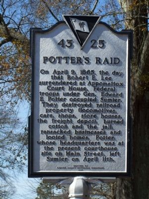 Potter's Raid Marker image. Click for full size.