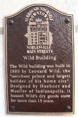 Wild Building Marker Photo, Click for full size